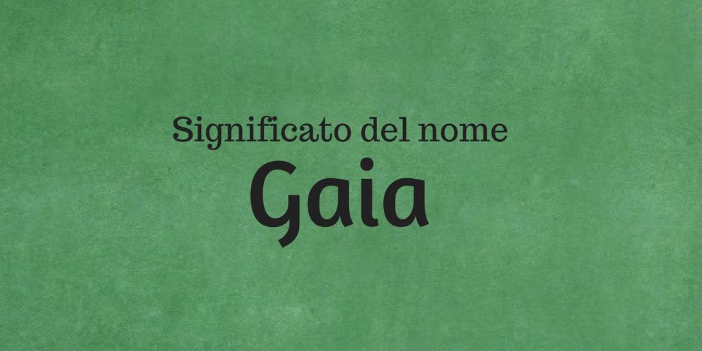 Gaia Significato Del Nome Curiosità E 5 Pietre Portafortuna Significato Dei Nomi